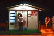 Автомат по продаже молока на одной из заправок