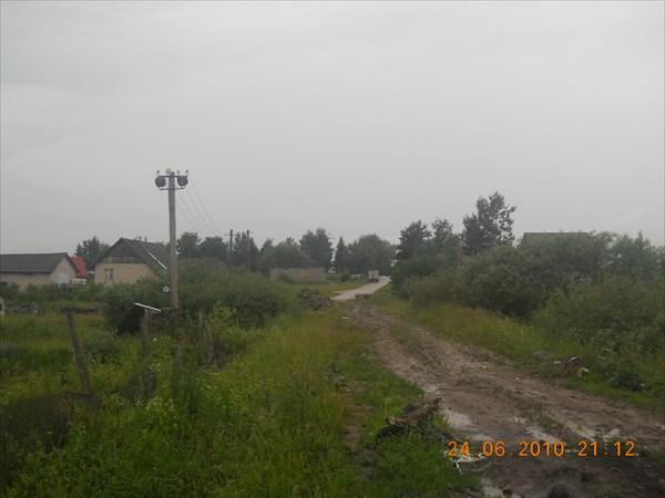 Дорога к биваку на Волотовом поле