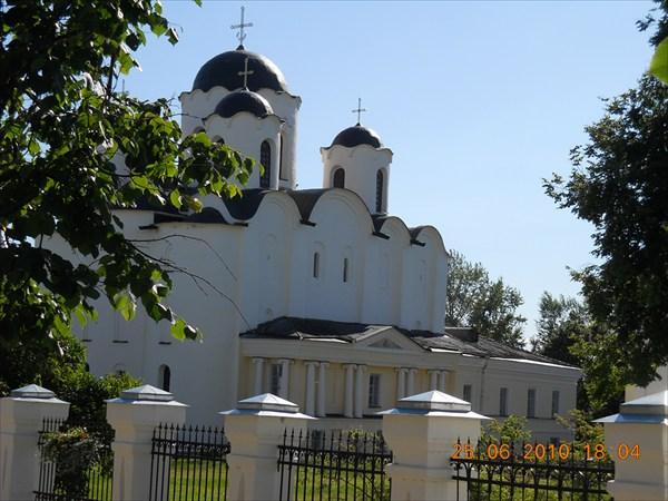 Ярославово дворище и Древний торг. Никольский собор.