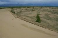 Чарские пески. Хребет Кодар