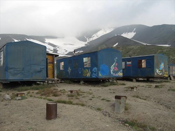 Лагерь спасателей