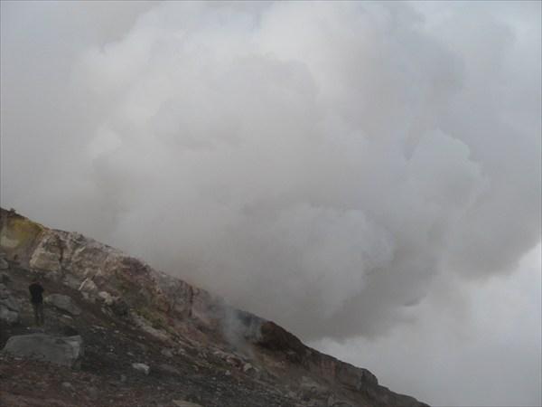 Активная чать кратера