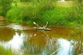 19 июля 2008. Река Сережа. Коллеги из Саранска