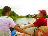 21 июля 2008. Река Теша. И кто же гребет?
