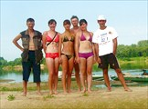 23 июля 2008. Река Ока. В двух шагах от финиша.
