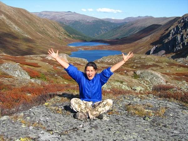 на фото: У Форелевых озёр реки Уйкараташ