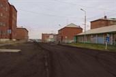 Покрытие улиц из шлака в Хатанге