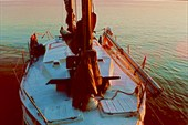 Яхта, на которой мы путешествовали