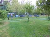 Кемпинг в лимонно-апельсиновом саду в Чиралы