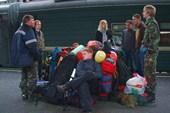 Ожидание машины на Московском вокзале