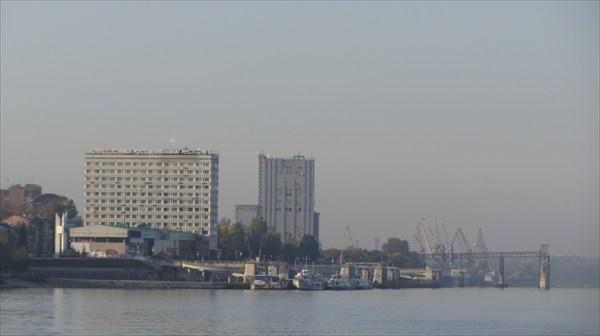 Порт утром