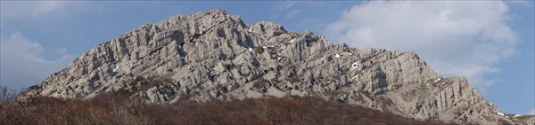 Панорама Чатырдага с Юга