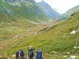 Спуск в долину Уллу-Муруджу