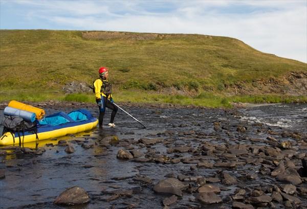 Река снова исчезла в камнях...