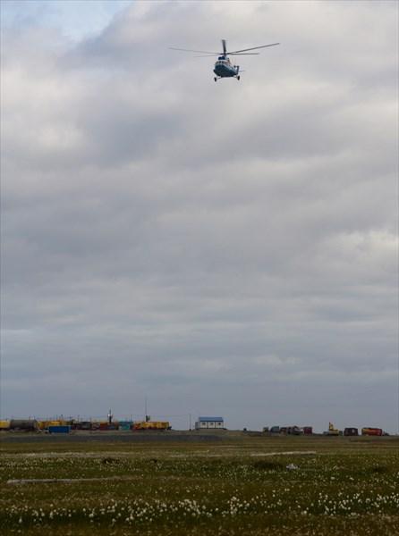 Вертолетная площадка КС Ярынской