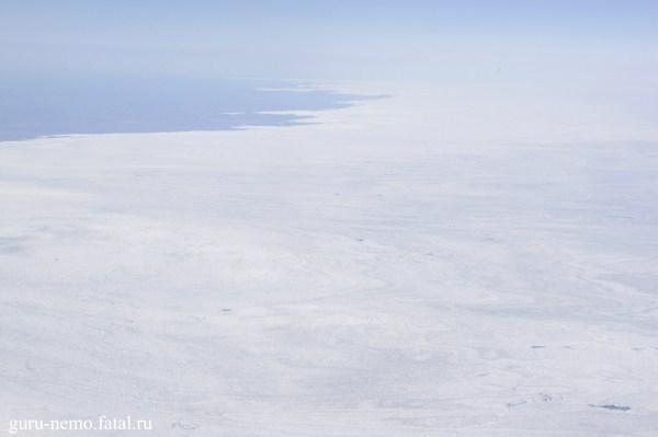 Ледяной щит Гренландии.