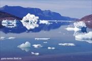 Айсберги в Sermilik fjord.
