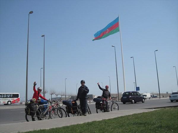 Самый большой флаг в СНГ