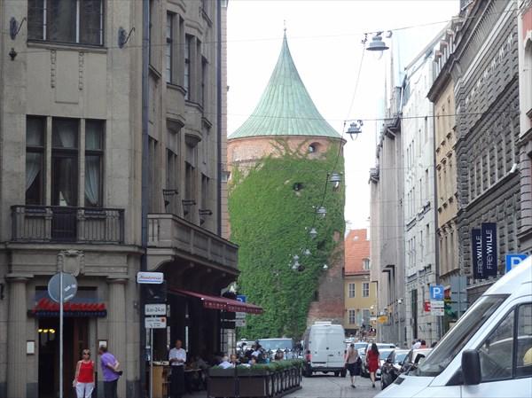 Рига. Пороховая башня.