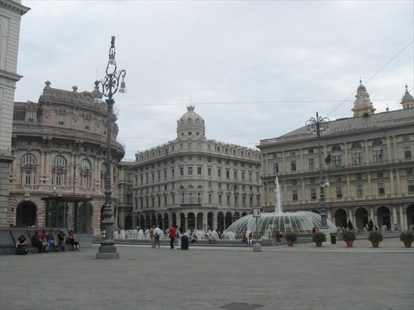 Генуя. Площадь Феррари (Piazza Ferrari)