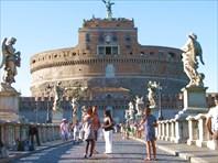 Замок Святого Ангела. Рим-город Рим