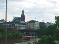 Старый замок в Гамбурге-город Гамбург