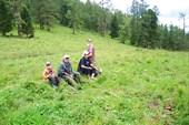 Отдых на перевале (снимает Борис)