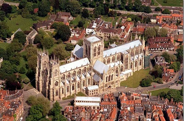 Aerial photograph of england