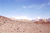 Каменистая пустыня возле Голмуда