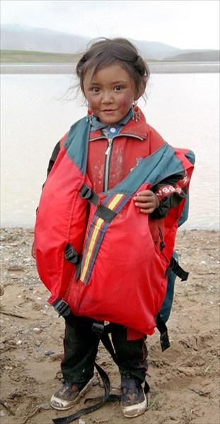 Тибетская девочка
