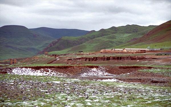 Поселок на Янцзы в раоне Джидо