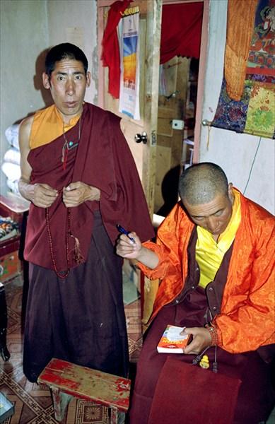 В гостях у монахов. Джидо