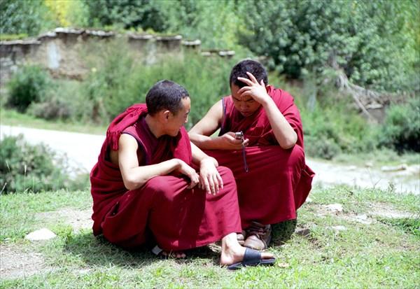 Монахи и современные технологии