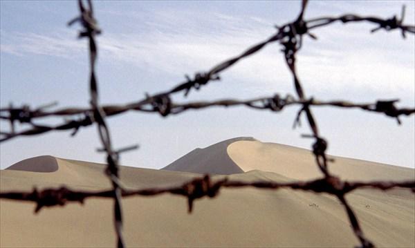 Пустыня Такла-Макан в Дунхуане