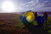 Холод и ветер на плато