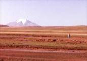 Эта гора на горизонте выше Эльбруса