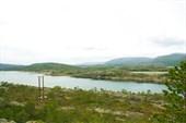 Пейзаж Efjorden`а в районе мостов Efjordbruene