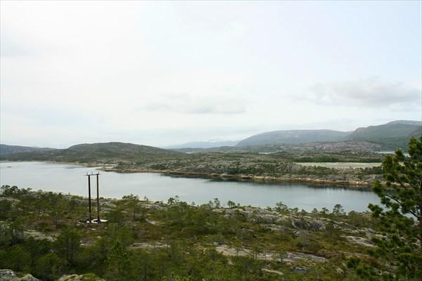 Пейзаж Efjorden