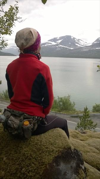 Алёна впитывает дух северной Норвегии
