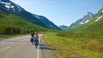 Долина ведущая к туннелю Sordaltunnelen
