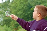 Данила и мыльные пузыри