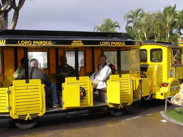 Специальный поезд до Лоро-парка