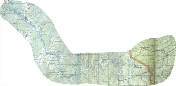 Карта реки Лемеза