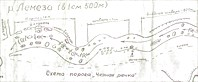Схема порога Караманташ (Черная речка)