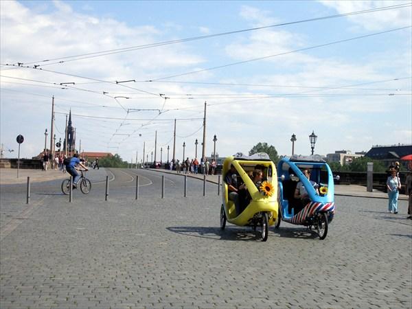 Веломобили - романтический городской транспорт