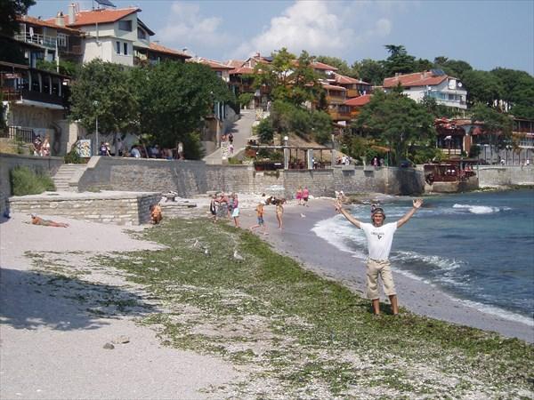 Несебр, пляж