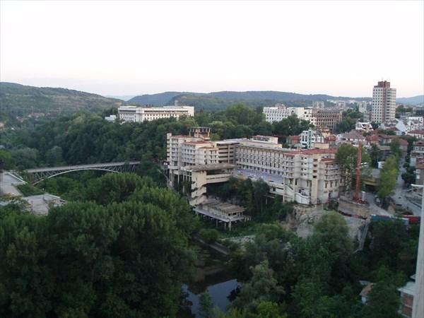 Велико-Тырново, вид на Интеротель