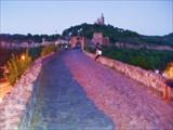 Велико-Тырново, вид на крепость Трапезица