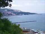 Балчик, ботанический сад вид на Черное море