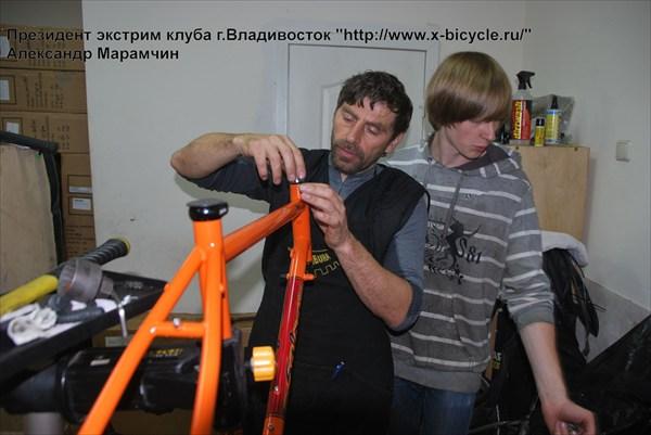 Установка_рулевого
